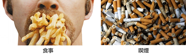 食事・喫煙